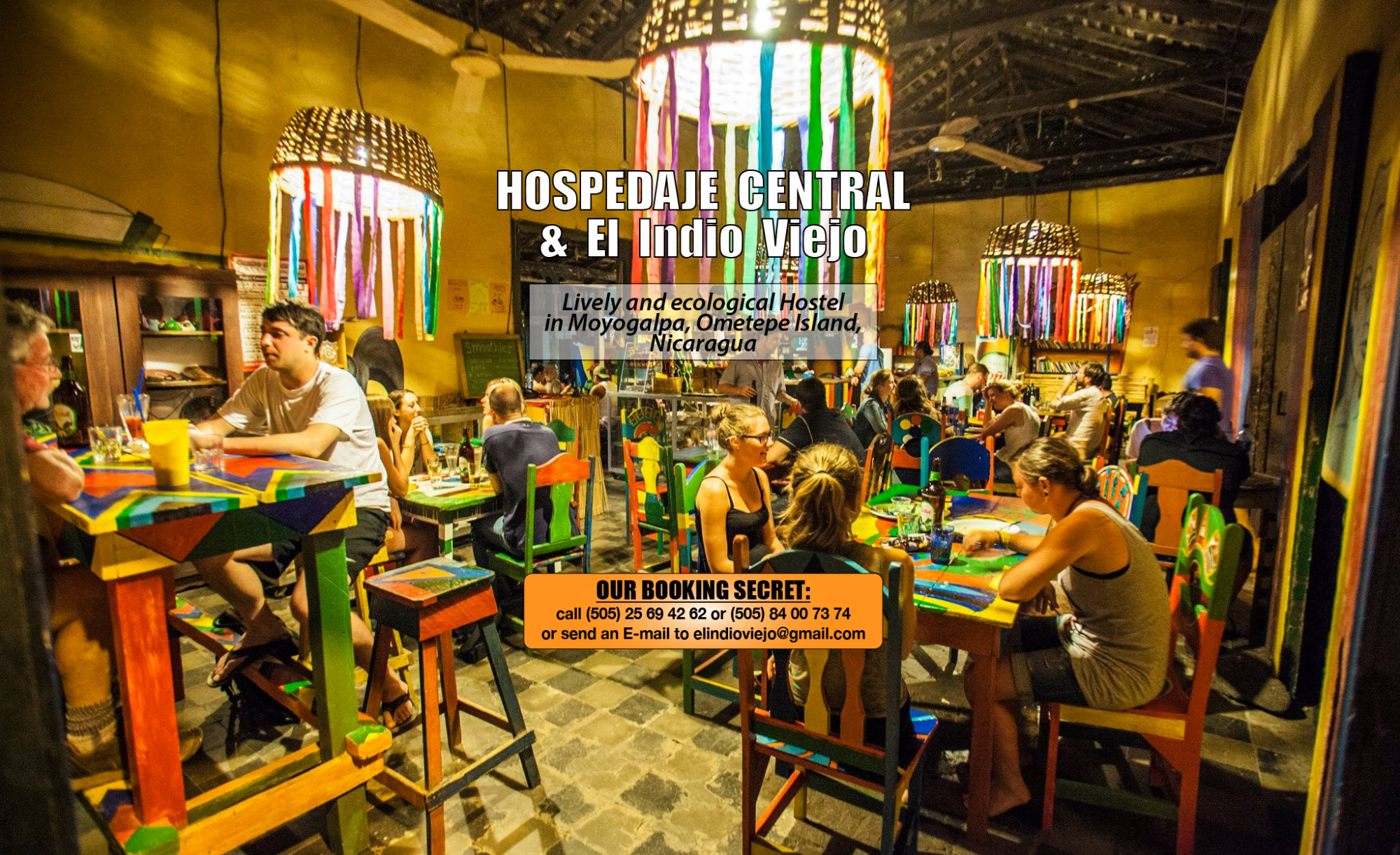 Hostel Ometepe Nicaragua - Hospedaje Central El Indio Viejo